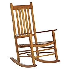 Patio Wooden Chairs Outsunny Porch Rocking Chair Outdoor Patio Wooden