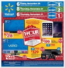 walmart black friday ad deals kick at 6 p m on thanksgiving