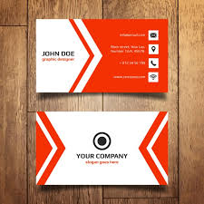 business card template vector free