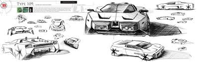 bugatti drawing untitled design lost archives 1984 bugatti type 105