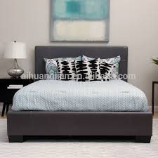 uk pu leather bed very low price cheap pu leather bed frame for uk
