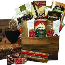 coffee and tea gift baskets coffee care package snacks and treats gift box