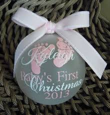 St Christmas Ornament Wedding - baby u0027s first christmas ornament by craftsbye on etsy 15 00