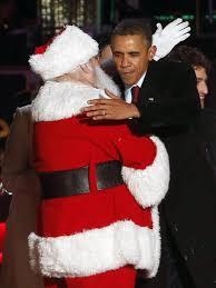 obama lights up christmas tree remembering mandela ny daily news