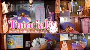 tutorial how to make a miniature cute kawaii bedroom for dolls tutorial how to make a miniature cute kawaii bedroom for dolls