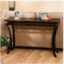 Modern Entryway Table Modern Foyer Table Sofa Console Home Wood Furniture Office Storage