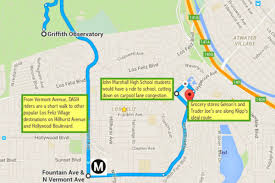 Silver Line Metro Map by Could Los Feliz And Silver Lake Finally Get A Local Transportation