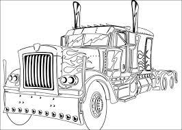 optimus prime printable truck pictures google ideas