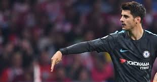 alvaro morata reveals meaning a goal celebration joe co uk