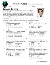 puzzle graphing linear inequalities benazir bhutto ws