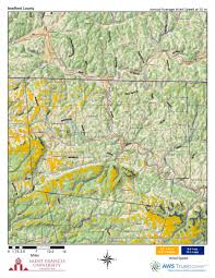 Map Of Western Pennsylvania by Pennsylvania Wind Maps St Francis University
