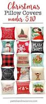 Small Decorative Christmas Pillows by Shop Farmhouse Style Christmas Pillow Covers U2013 These Budget