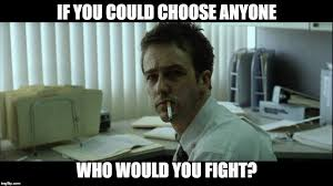 Meme Fight - fight club meme imgflip