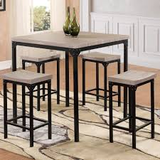 Square Bistro Table And Chairs Bistro Tables And Chairs Round Brown Caffe Table Aluminum Material