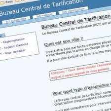 bureau de tarification plus d informations sur le bureau central de tarification b c t