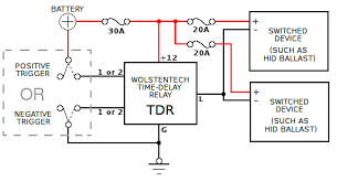 automotive time delay relay installation instructions
