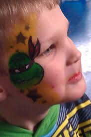 halloween face paint kids black background best 25 ninja turtle face paint ideas only on pinterest
