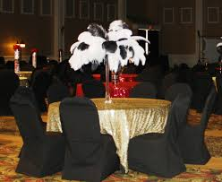 white ostrich feather centerpieces feathers bravo event u0026 party rental u0027s blog