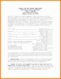 Rental House Lease Agreement Template 6 House Renting Contract Resume Sections