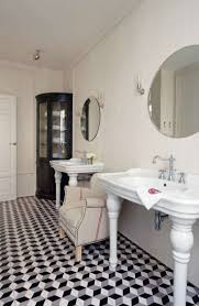 geometric black u0026 white bathroom interiors google search black