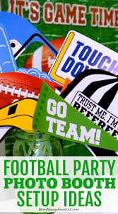 photo booth ideas day snacks with g h cretors football party photo booth ideas
