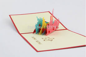 paper flash cards printing original 3 d characteristic three