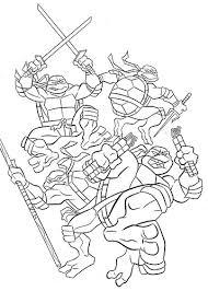 fabulous teenage mutant ninja turtles coloring book coloring