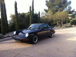 classic porsche black classic 1977 porsche 911 carrera 3 0 cabriolet roadster for sale