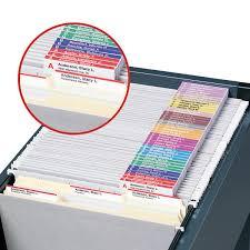 viewables premium 3d hanging folder tabs u0026 labels