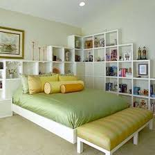 bookcase headboard to make you easily take and store books before