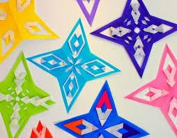 origami paper ornaments allfreechristmascrafts