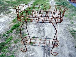 Wrought Iron Decorations Home by Wrought Iron Scalloped Fernery Plant Stand