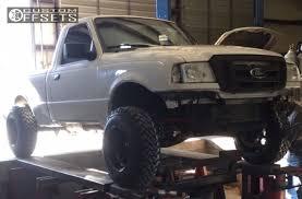 2010 ford ranger rims wheel offset 2010 ford ranger hella stance 5 suspension lift 6