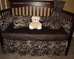 safari crib bedding etsy