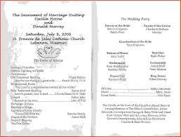 Examples Of Wedding Ceremony Programs 28 Example Of Wedding Ceremony Program Christian Wedding