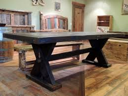 handcrafted rustic viking dining table 40