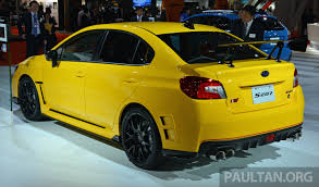 subaru wrx sti s207 tokyo 2015 photo gallery autoblog 100 yellow subaru wrx modified subaru wrx 1 madwhips my