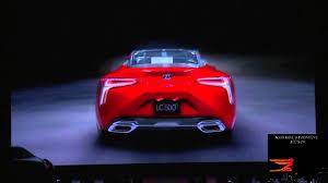lexus lc 500 detroit 2016 lexus lf fc concept and lexus lc 500 detroit auto show naias