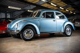 original volkswagen beetle 1974 vw bug with just 60 miles on the clock is as new as it gets