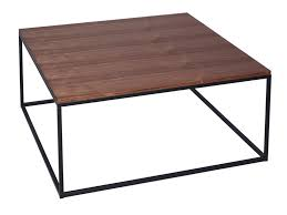 slimline retro square coffee tables marble walnut and glass
