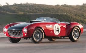 retro ferrari 14 vintage ferrari 166 inter 206 s 625 trc heading to rm auctions