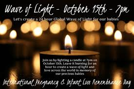 Infant Loss Candles Baby Loss Awareness Week Sands Auckland Central
