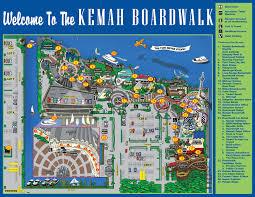 Downtown Houston Map Kemah Boardwalk The Fun Never Stops