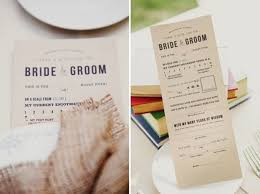 cool wedding programs the 5 coolest and most unique wedding ideas of 2013