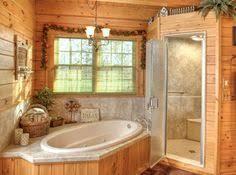 log cabin bathroom ideas jocassee v master bathroom built by blue ridge log cabins
