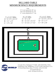 how much space is needed for a pool table how much space do you need around a pool table round designs