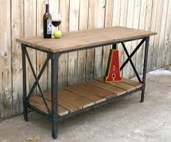 narrow metal console table narrow metal console table beautiful extraordinary reclaimed wood