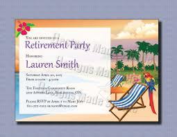 Sample Of An Invitation Card Female Retirement Party Invitation Card Design Idea Momecard
