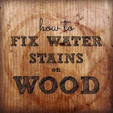 how to remove water rings from wood tables surfaces part 1