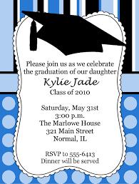 polka dot graduation invitations